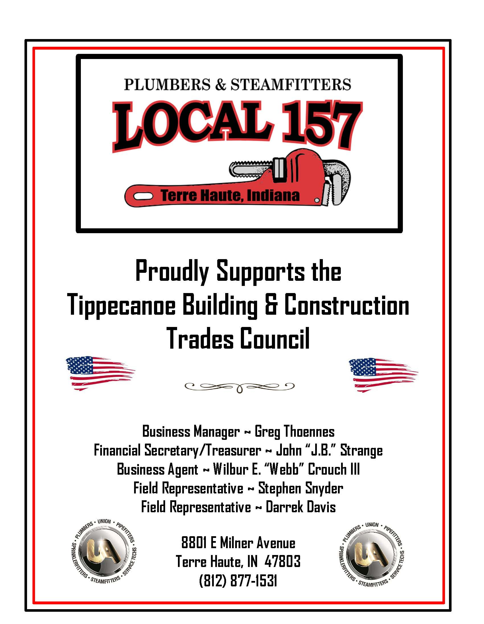 Plumbers and Steamfitters Local 157